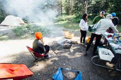 Camp breakfast is the best breakfast!