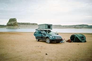 tent beach lodging
