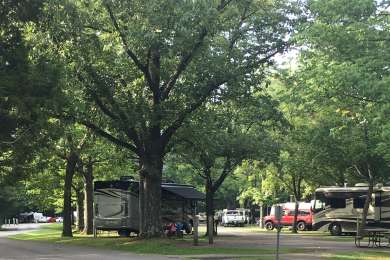 Ferne Clyffe Campground