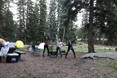 We loved staying at the goose creek campground! Only a 5 minute drive from the Goose Creek Trailhead into Lost Creek Wilderness!