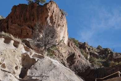 Pueblo cave dwellings
