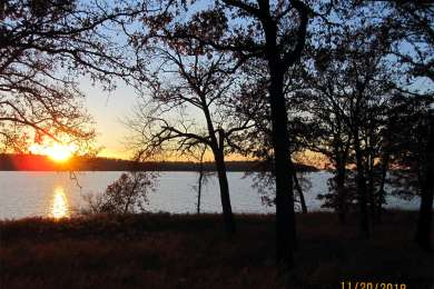 Sunset over Ft Gibson Lake