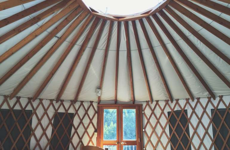 Sunset Yurt
