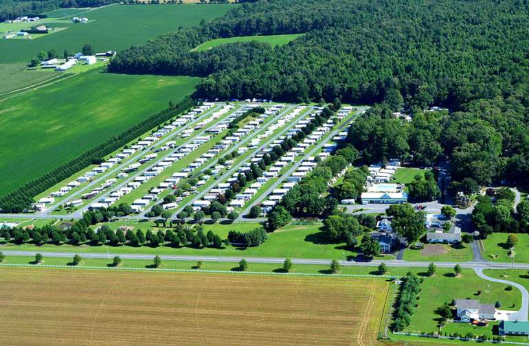 Homestead Campground Camp