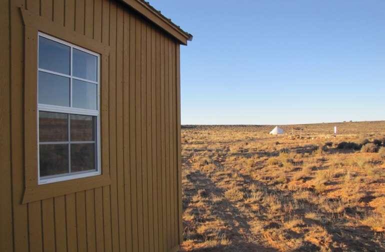 Cabin Glamping on Navajoland