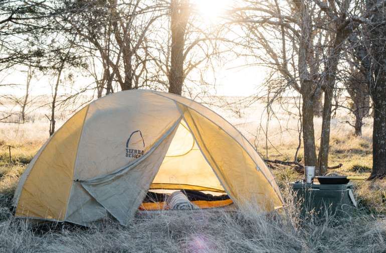 tent lodging