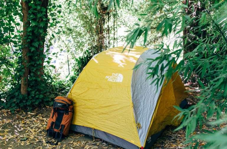 tent gear lodging