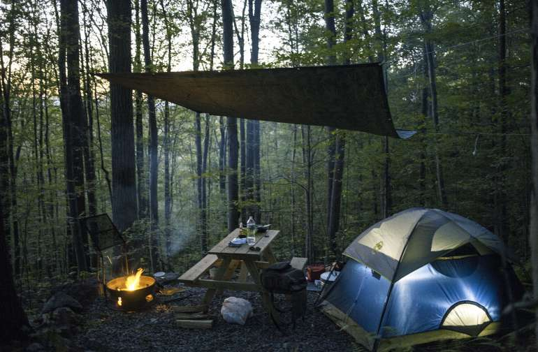 Best Camping In And Near Harriman State Park