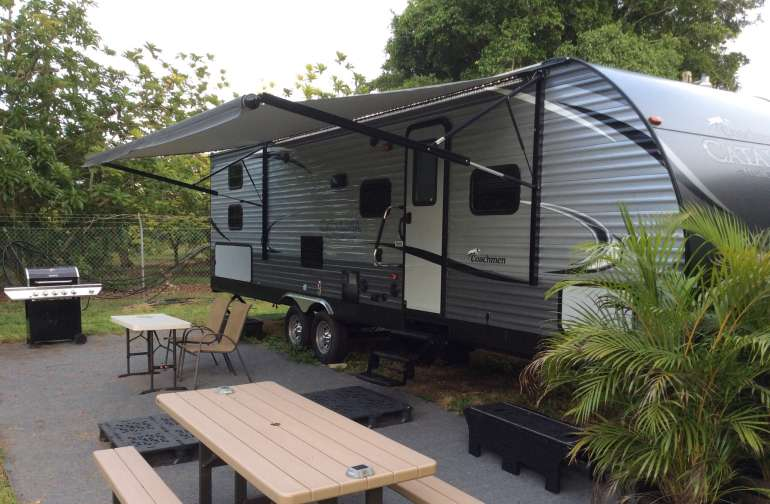 RV trailers available  - brand new 2017 models RV Spots also availa