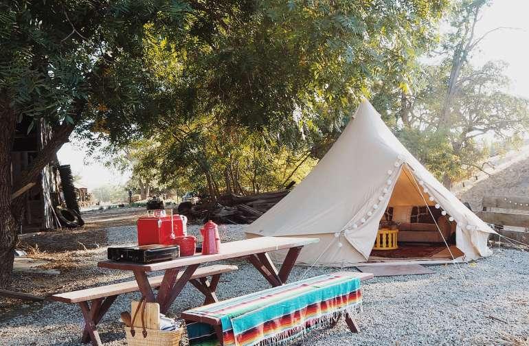 site 1 - tent Pauli