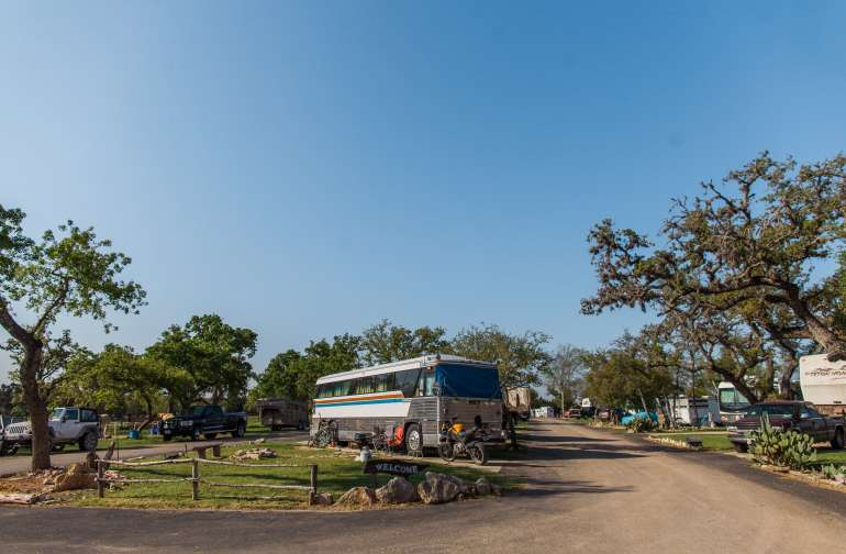 Lovely RV sites, and a well-maintained property.