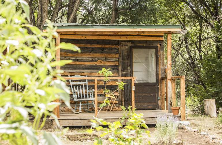 Shepherd's Solo Glamping Shed