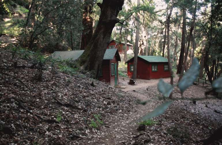 Cabins 1, 2 and 3.