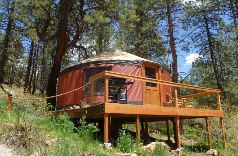Green Sky Yurt Retreat
