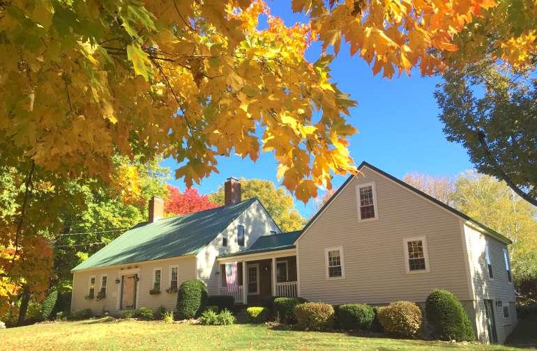 Maple Moon Farm in the Fall
