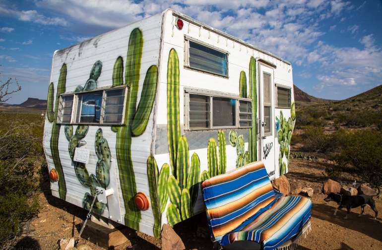 """1962 Vintage RV """"Cozy Cactus"""""""