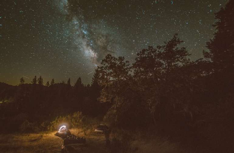 PERSEID'S METEOR SHOWER AND ASTRONOMY NIGHT CAMPOUT: SATURDAY AUGUST 11 2018
