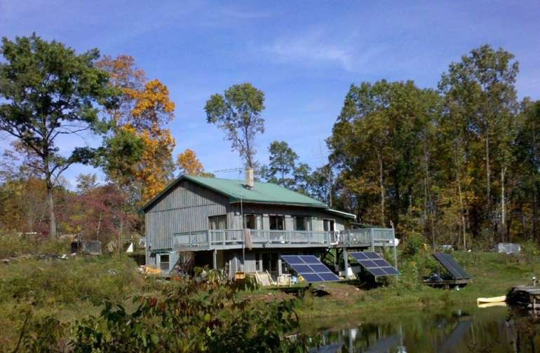 Broadwell Hill Off-Grid Motherhouse