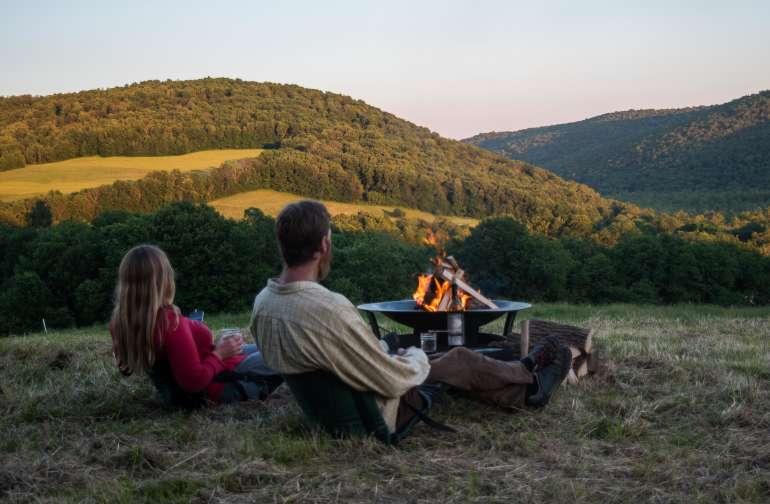 Campfire magic