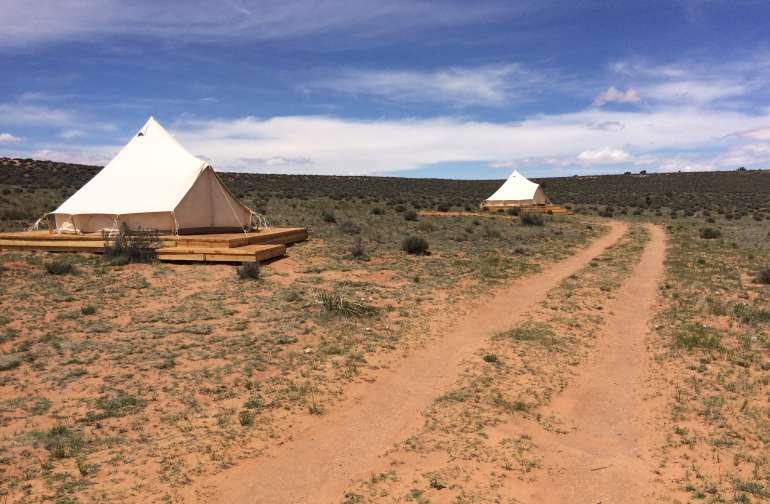 Navajoland Bell Tent Glamping
