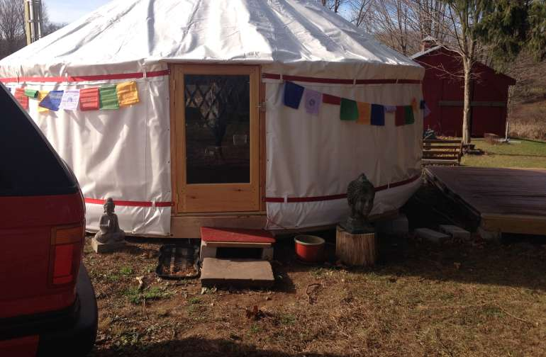 Beautiful Mongolian Yurt