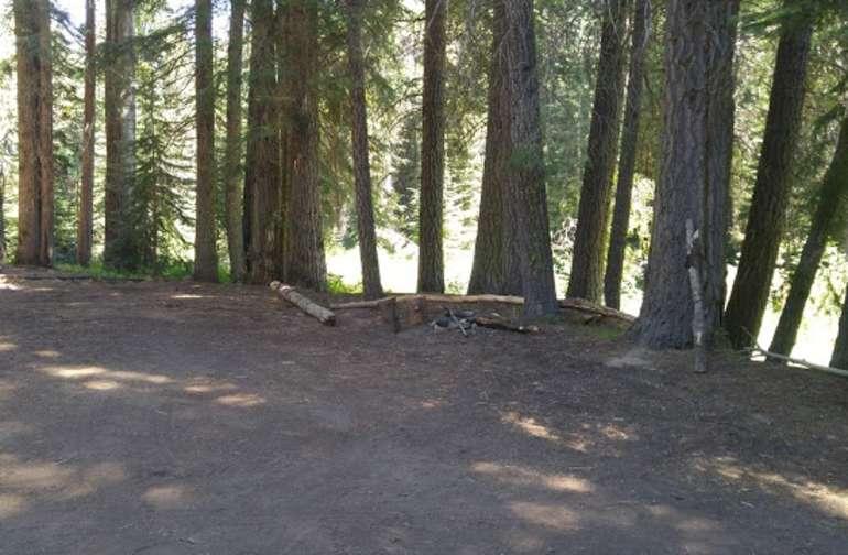 Upper hiking/horseback riding trail