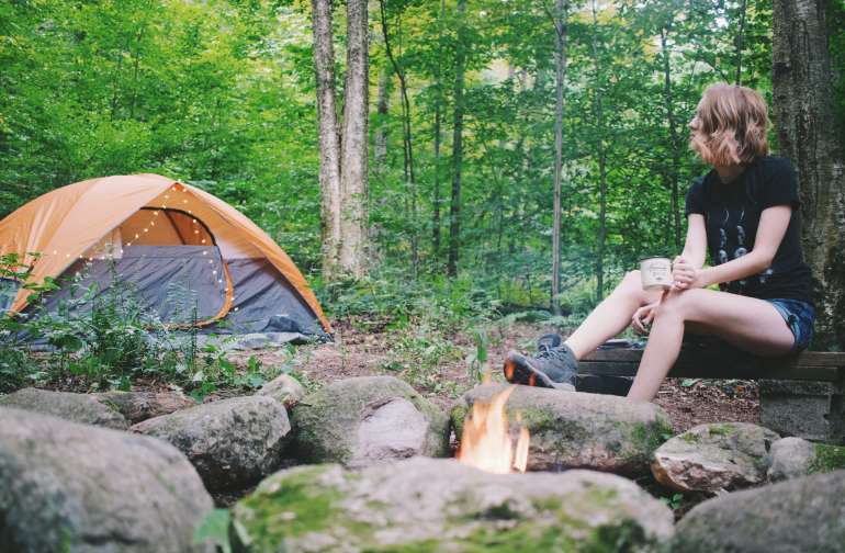 Cozy Campsite By The Creek