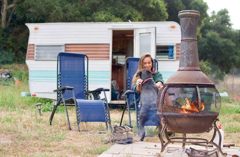 Restored Vintage Camper