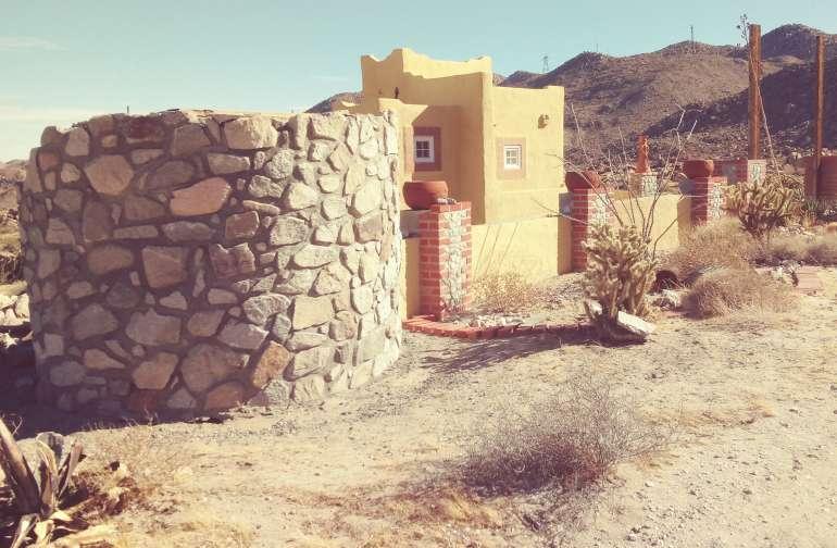High desert cabin