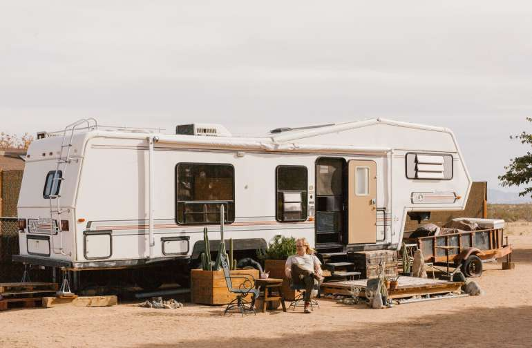 people rv lodging