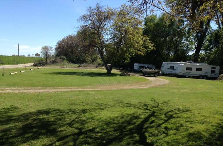 Dry camping in a RV