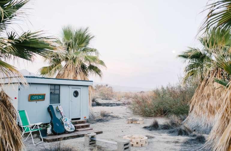 desert lodging trailer