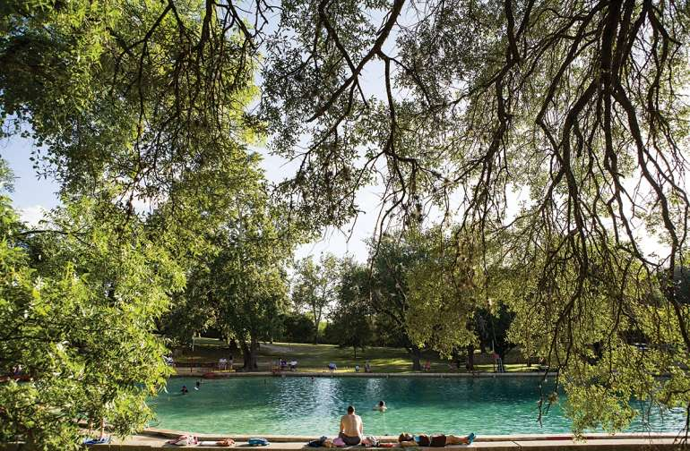 3rd Largest Spring-fed Pool in TX (68 degrees year round)
