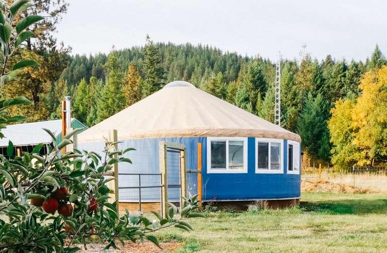 yurt lodging