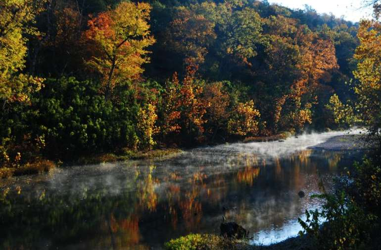 Riverside camping  at its best.  Is there a more idyllic place to camp in central Arkansas?  No.