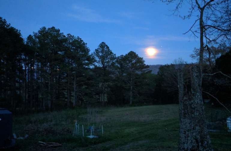 Full moon camping here is the best!