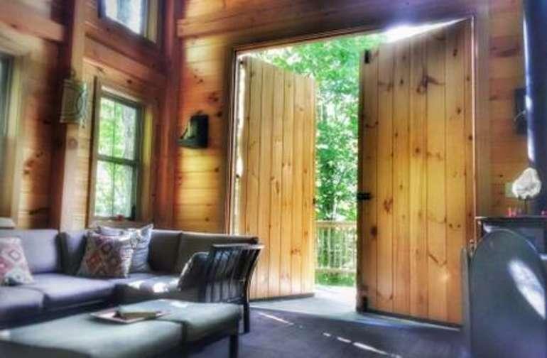 Barn doors bring in the sunshine!!