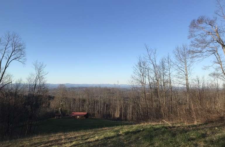 The beautiful Blue Ridge Mountains!