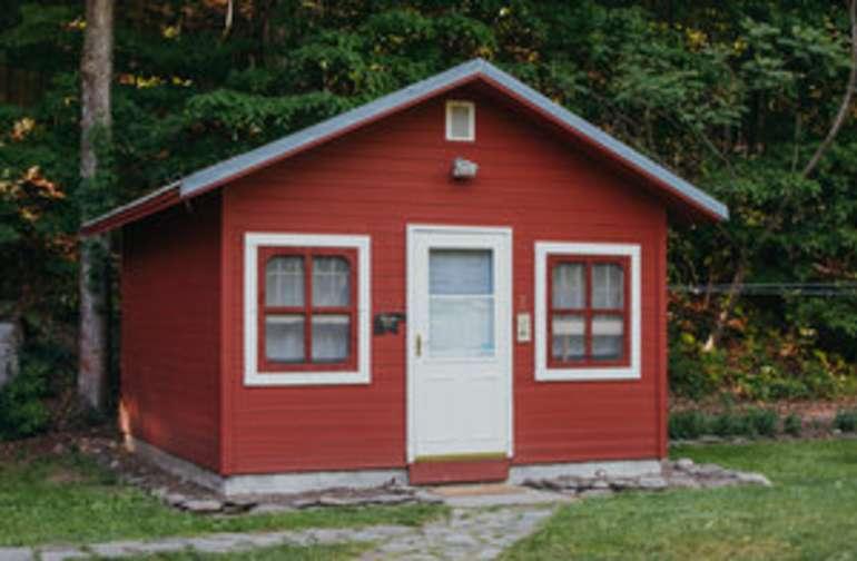 Aldo Leopold's Cabin at Wellnesste Lodge in Taberg NY