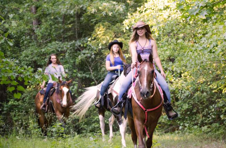 Escape the arena and come camp with your horse