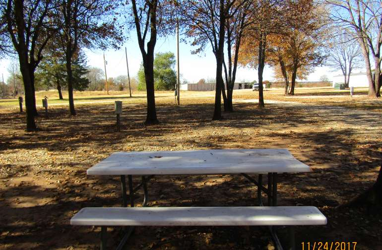 Picnic Tables are available in different areas throughout the campground. Move to your location as needed.