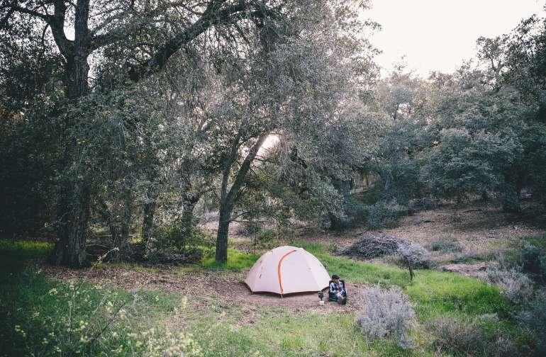 "Camp site 5 ""whispering Oaks"" A Magical little spot!"