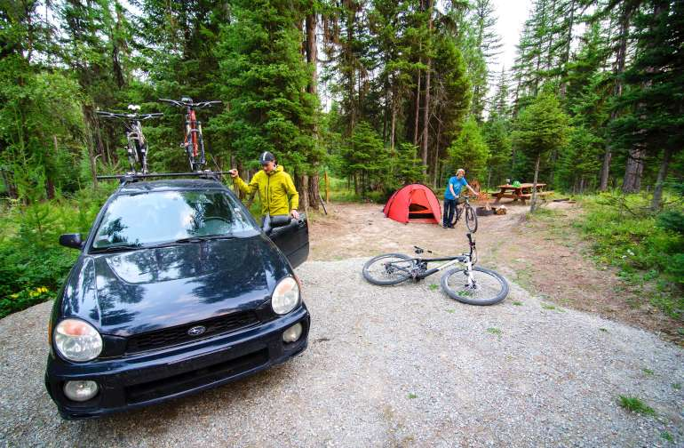 Bike Retreat - Campground