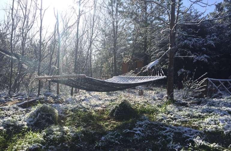 soft spring snow