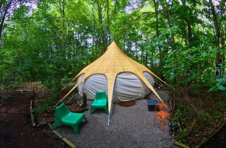 Heated Yurt Camp for up to 24 folks