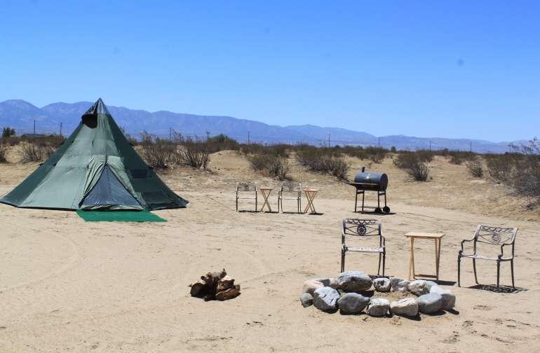 Big Teepee in the Desert
