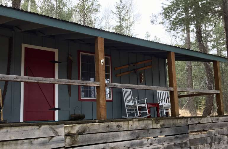 Sleeper Hollow Cabin Camping