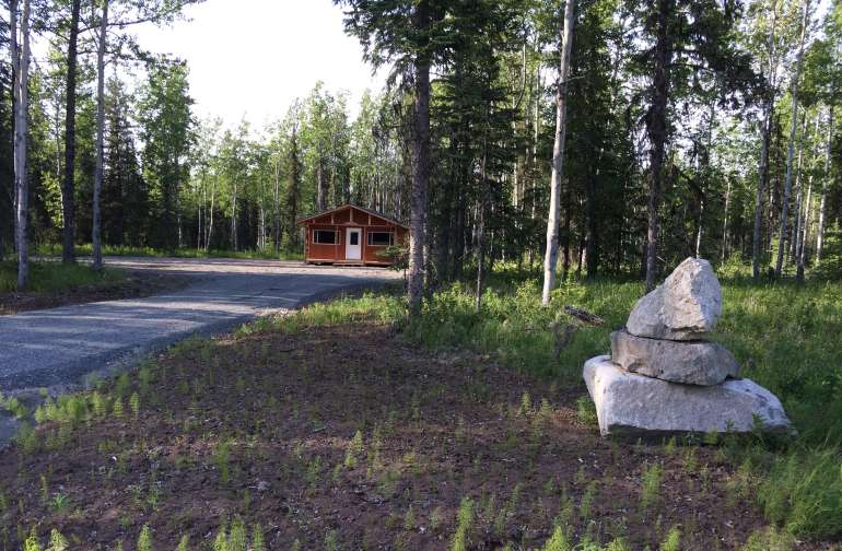 """Beat """"combat camping"""" on our quiet and secluded property."""