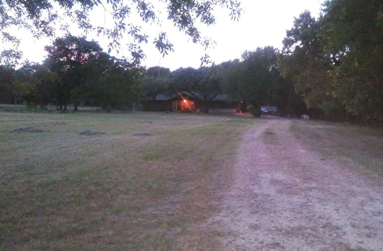 Camping and parking along drive will make for easy access.