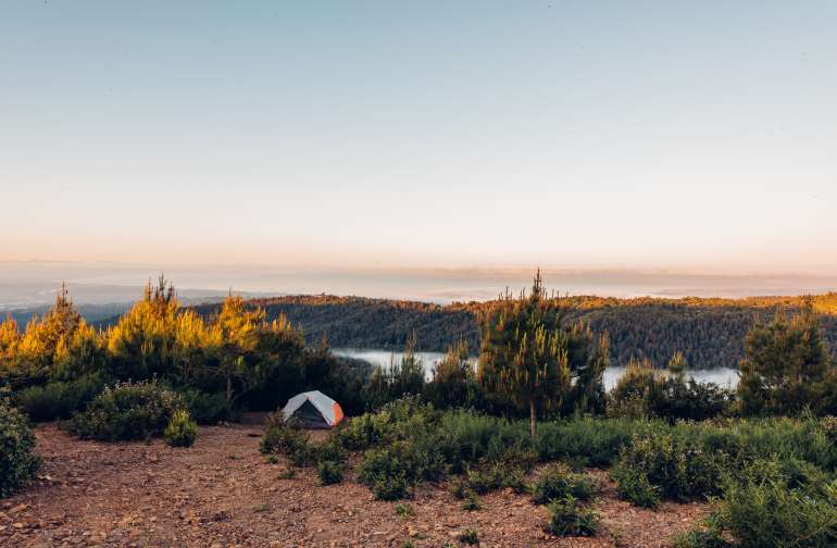 tent mountain lodging